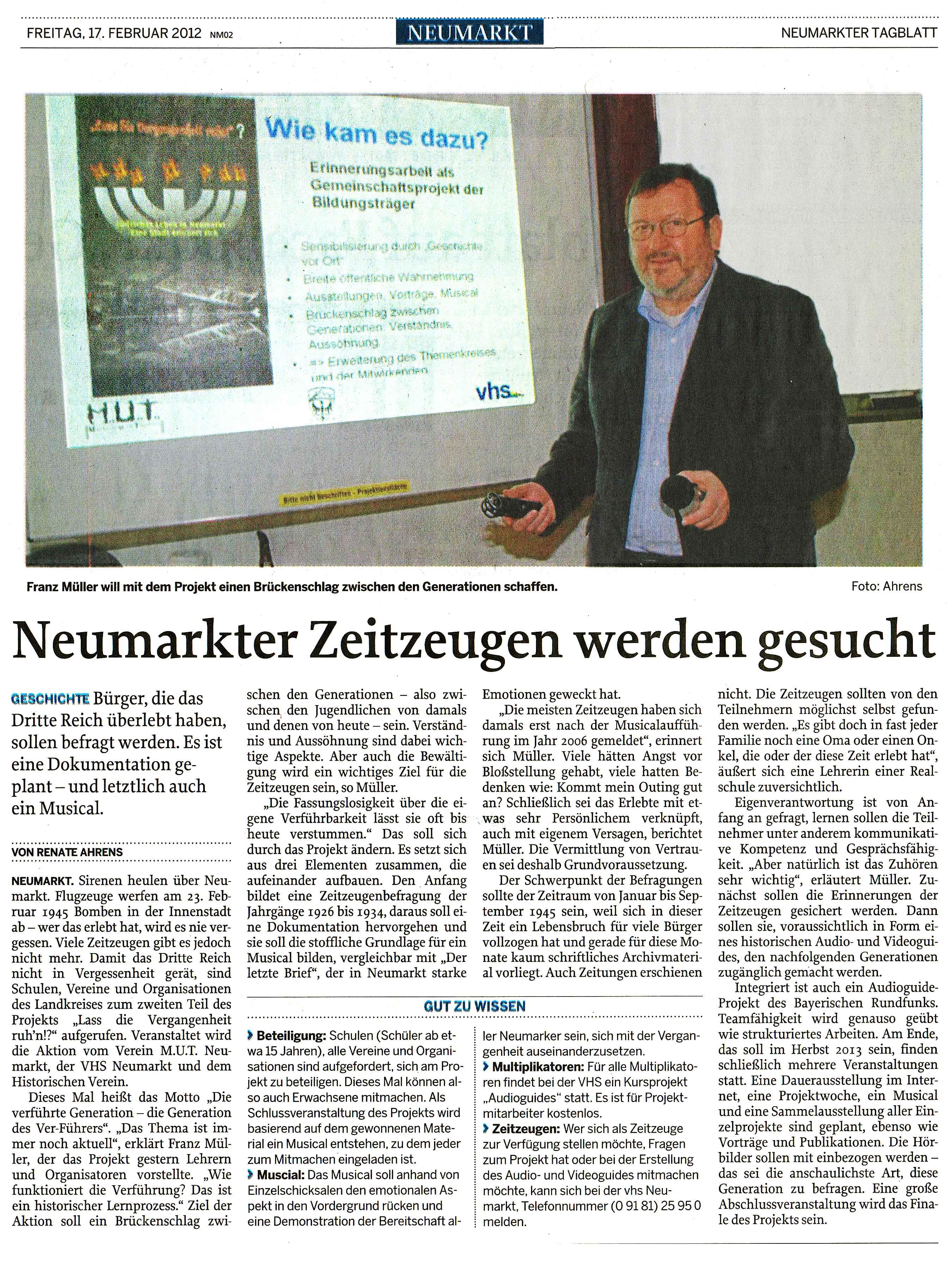 Neumarktertagblatt